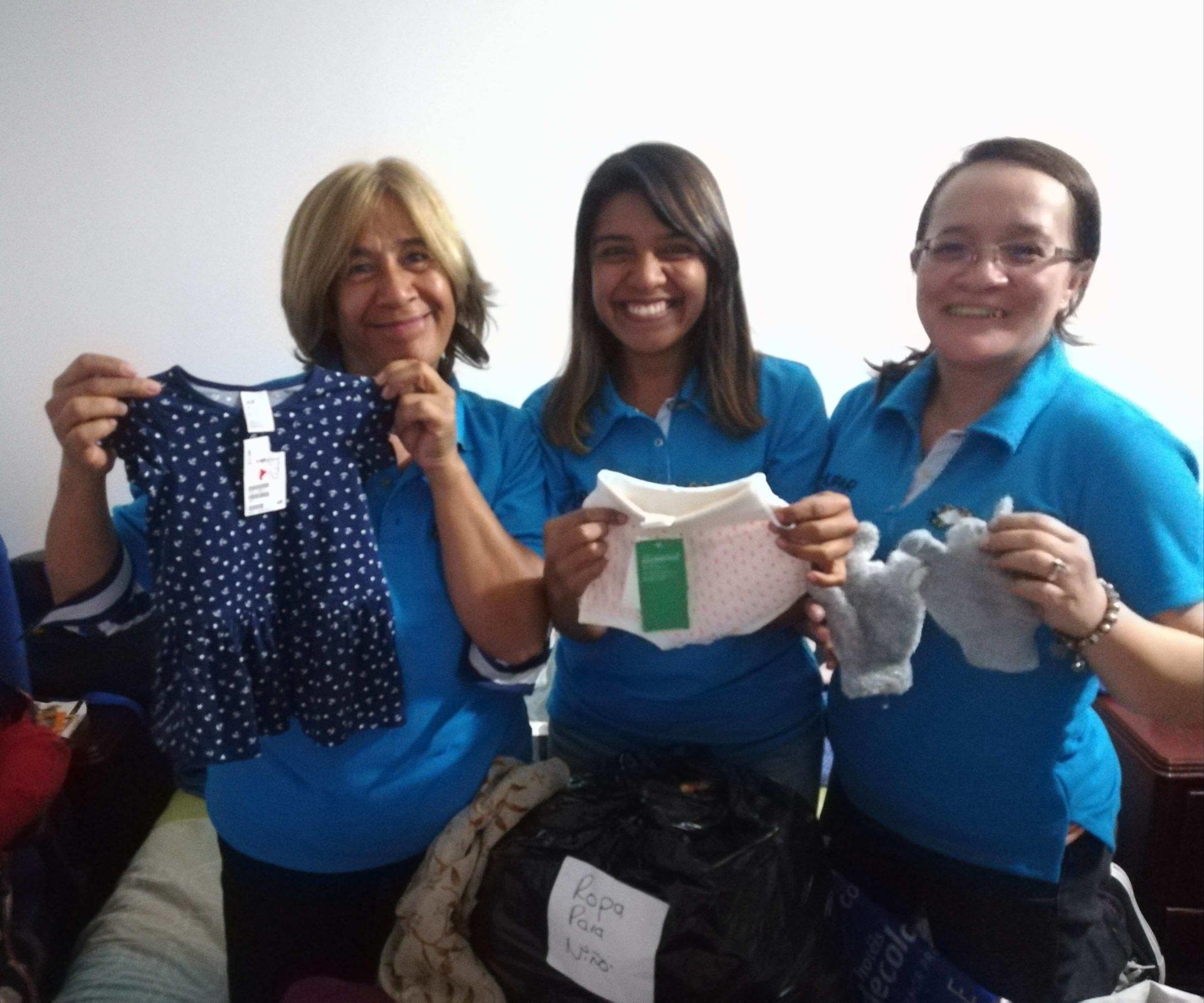 Organización donaciones Fuera de la Caja
