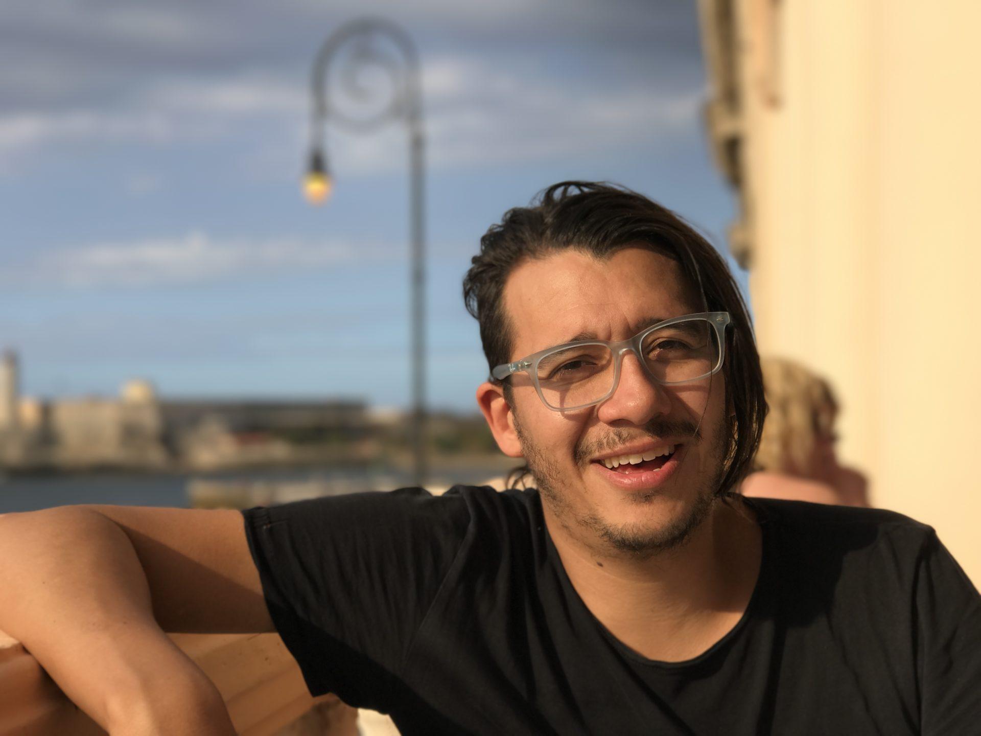 René Baquero, un creativo con mucha experiencia en agencia.